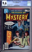 House of Mystery #278 CGC 9.6 w Davie Collection