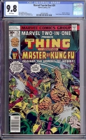 Marvel Two-In-One #29 CGC 9.8 w Davie Collection