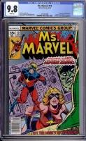 Ms. Marvel #19 CGC 9.8 w Davie Collection