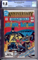 Brave and the Bold #200 CGC 9.8 w Davie Collection