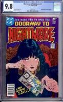 Doorway to Nightmare #1 CGC 9.8 w Davie Collection