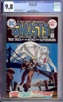 Ghosts #36 CGC 9.8 w Davie Collection