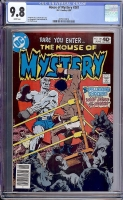 House of Mystery #281 CGC 9.8 w Davie Collection