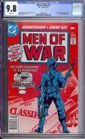Men of War #1 CGC 9.8 w Davie Collection