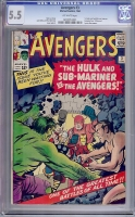 Avengers #3 CGC 5.5 ow