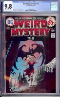 Weird Mystery Tales #14 CGC 9.8 ow/w Davie Collection