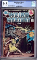 Weird Mystery Tales #15 CGC 9.6 ow/w Davie Collection