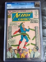 Action Comics #295 CGC 8.5 ow/w