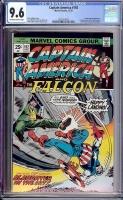 Captain America #192 CGC 9.6 ow/w Davie Collection