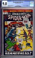 Amazing Spider-Man #114 CGC 9.0 ow/w Davie Collection