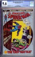 Amazing Spider-Man #115 CGC 9.6 ow/w Davie Collection