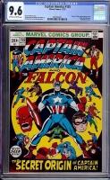 Captain America #155 CGC 9.6 ow/w Davie Collection