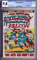 Captain America #156 CGC 9.8 w Davie Collection