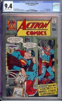 Action Comics #397 CGC 9.4 ow/w Davie Collection