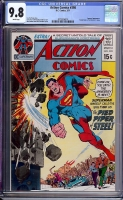 Action Comics #398 CGC 9.8 w Davie Collection