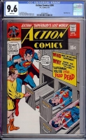 Action Comics #399 CGC 9.6 w Davie Collection