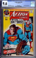 Action Comics #400 CGC 9.6 ow/w Davie Collection