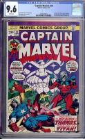 Captain Marvel #28 CGC 9.6 w Davie Collection