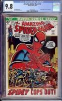 Amazing Spider-Man #112 CGC 9.8 ow/w Davie Collection