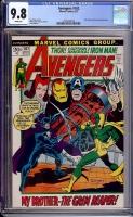 Avengers #102 CGC 9.8 w