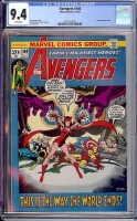 Avengers #104 CGC 9.4 w Davie Collection