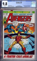 Avengers #106 CGC 9.8 w Davie Collection