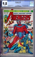 Avengers #110 CGC 9.8 w Davie Collection