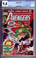 Avengers #116 CGC 9.8 w Davie Collection