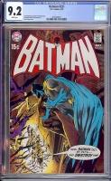 Batman #221 CGC 9.2 w Davie Collection