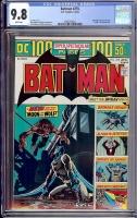 Batman #255 CGC 9.8 w Davie Collection