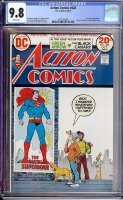 Action Comics #428 CGC 9.8 w Davie Collection