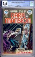 Forbidden Tales of Dark Mansion #15 CGC 9.6 w Davie Collection