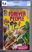 Forever People #7 CGC 9.6 w Davie Collection