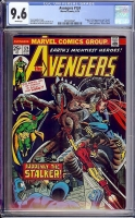 Avengers #124 CGC 9.6 w Davie Collection