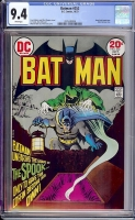 Batman #252 CGC 9.4 w Davie Collection