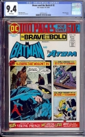 Brave and the Bold #115 CGC 9.4 w Davie Collection