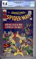 Amazing Spider-Man #27 CGC 9.4 ow/w