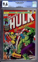 Incredible Hulk #181 CGC 9.6 w