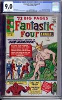 Fantastic Four Annual #1 CGC 9.0 w