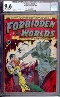 Forbidden Worlds #1 CGC 9.6 ow/w River City