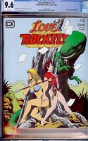 Love and Rockets #2 CGC 9.6 w