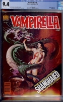 Vampirella #79 CGC 9.4 w