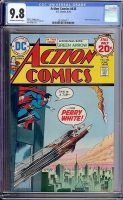 Action Comics #436 CGC 9.8 ow/w