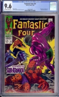 Fantastic Four #76 CGC 9.6 ow/w