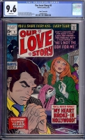 Our Love Story #5 CGC 9.6 w John G. Fantucchio