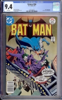 Batman #286 CGC 9.4 w Davie Collection