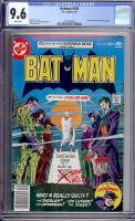 Batman #291 CGC 9.6 w Davie Collection