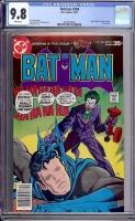 Batman #294 CGC 9.8 w Davie Collection