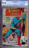 Action Comics #363 CGC 9.4 ow/w Davie Collection