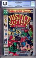 All-Star Comics #69 CGC 9.8 w Davie Collection